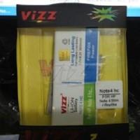 Galaxy Note 4 Replika Battery Vizz 3800mAh Samsung Baterai Slim Copy
