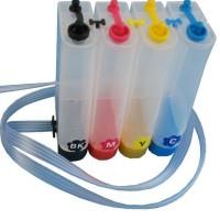 Botol Infus / Tabung Infus 4 warna untuk printer Epson, Canon