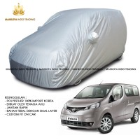 Custom Double Layer Body Cover / Sarung Mobil Nissan Evalia Fit On