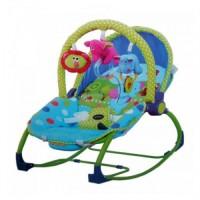 Bouncer Pliko Rocking Chair Hammock 3 Phases Elephant Blue | 06x15