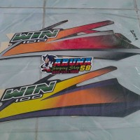 Striping/Sticker/Lis Motor Honda Win 2004