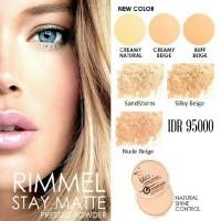 RIMMEL Stay Matte Primer Pressed Powder