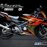 harga Striping Ninja 150 RR New Motif NEKKU Stiker Khusus Motor Pakai Kondom Tokopedia.com