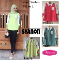 SUPPLIER HIJAB REALPICT : syanon by princes