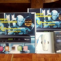 GETMECOM HD009 NEW FTA [POWER VU] PLUS MODEM MOVIMAX