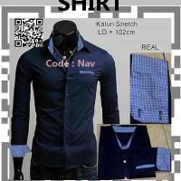 Kemeja Pria Code; NAV