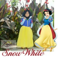 Kostum Snow White Muslim (Size: 6-10th)
