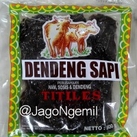 Jual Dendeng SAPI Titiles 500gr mentah Murah
