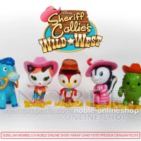 DISNEY-Sheriff Callie Figure 5pc- Sheriff Callie Wild West-Koboi Cute