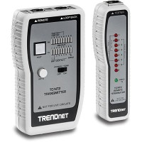 Trendnet Network Cable Tester (TC-NT2) RJ11 RJ12 RJ45 Ethernet Tester
