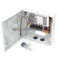 Power Sentral Box 4 Port Power Supply CCTV 5A