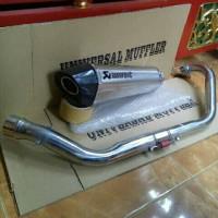 Akrapovic Layang Titan Yamaha R15, New Vixion, Vixion Old