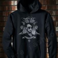harga Jaket Sweater Hoodie Jumper Hitam Metal Tokopedia.com