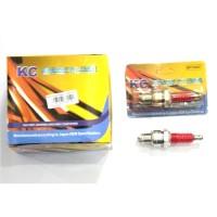 BUSI KC RACING KAKI 3 BP7HSAT - AKSESORIES / SPARE PART MOTOR MURAH