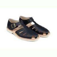 Sepatu Loafers Pria / Zalora Classic faux leather fisherman