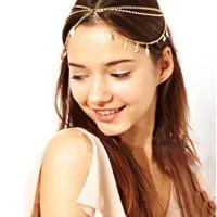 Kalung Layer Multifungsi Hiasan Kepala Rambut Klasik