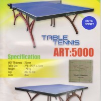 harga Meja Pingpong Tenis Meja Double Happiness Art 5000 Import Tokopedia.com