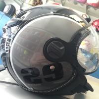 harga Helm Pilot Zeus 210 Retro Import Grey Tokopedia.com