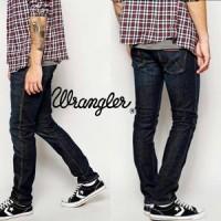 Jual Celana Jeans Pria Wrangler Skinny (Model Pensil) Blue Black Murah