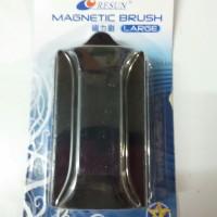harga Magnet Pembersih Aquarium Ukuran Besar : Resun Magnetic Brush Large Tokopedia.com