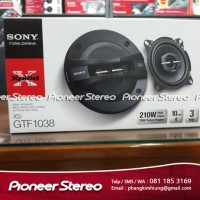 "SONY XS - GTF1038 - 4"" 3 WAY COAXIAL SPEAKER"