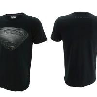 Jual T-Shirt / Baju / Kaos Superhero Topgear Superman Man Of Steel Blackver Murah