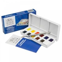 Winsor & Newton Cotman Water Colours 12 Warna / Cat Air Cotman 12