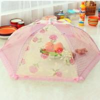 Type 02 Tudung Saji Lipat Penutup Makanan (Kecil) Umbrella Food Cover