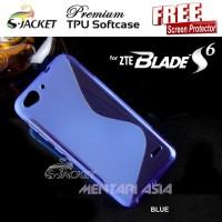 harga Softcase Zte Blade S6 : S-jacket Premium S-line Tpu ( + Free Sp) Tokopedia.com