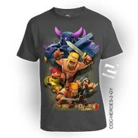 KAOS 3D SQUARE COC-HEROES-2 (GAMES COC - CLASH OF CLANS)