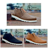 Sepatu Boots Pria Moofeat Cowboy