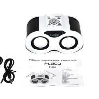 Fleco Speaker Portable Audio Player F-800 | Rechargable | Bentuk Teropong