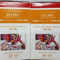 Paper Canon RP-108 For Selphy CP 820 / CP910