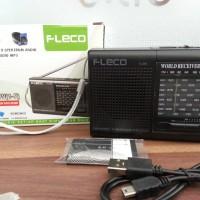 Speaker Pemutar Musik Radio + Mp3 Mini Portable Fleco F-315 F315