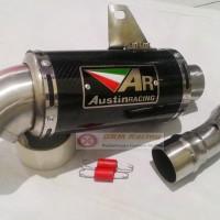 Knalpot New CB 150 R / RRmono/ CBR lokal / Ninja 250 austin Carbon