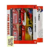 Mainan Mobil-Mobilan Set Pemadam Kebakaran