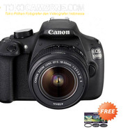 Canon EOS 1200D Lensa Kit 18-55mm IS II + Hoya Kit 58mm