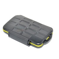 JJC Memory Card Case MC-CF/SD/MSD8 (Water Proof) Micro SD SDHC CF SDXC