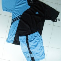 Harga setelan baju adidas lux hitam biru celana jersey grosir | antitipu.com
