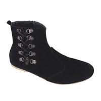 harga Sepatu Boots Wanita Tali Samping Hitam Catenzo - Ak 017 Tokopedia.com