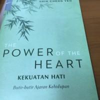 """Buku master Cheng yen """" the power of the heart"""""""