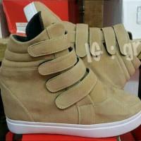 harga Sepatu Boot Sneakers Wedges Tokopedia.com
