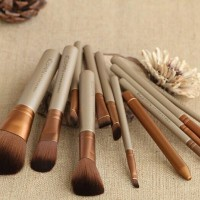 NAKED brush set make up kit kosmetik packing opp plastik bulu halus