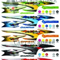 stiker / striping mio sporty atau smile MX thailook