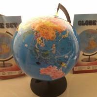 World Globe bola dunia mainan tiup gambar atlas cocok souvenir hadiah