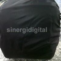 Tas Kamera SLR + Raincoat Camera Bag Slempang DSLR Canon Nikon 1 Lensa