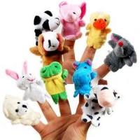Boneka jari Binatang/ animals mainan edukatif edukasi anak balita bayi