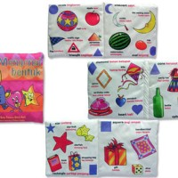 Buku Bantal mengenal Bentuk, mainan edukatif edukasi anak, bayi balita