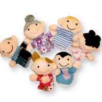 Boneka jari Keluarga / Family mainan edukatif edukasi anak bayi balita