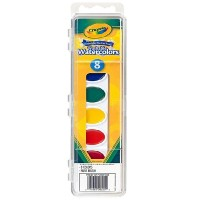 Crayola Washable Watercolors 8 Ct. (53-0525)